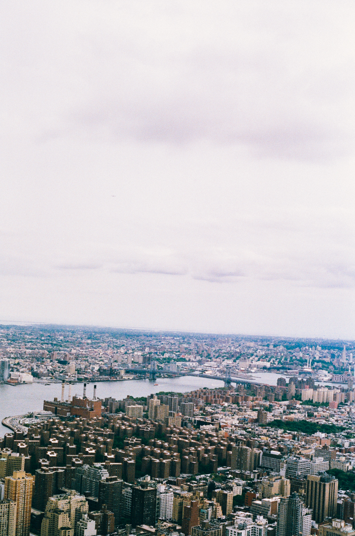 new york from empire state building 3