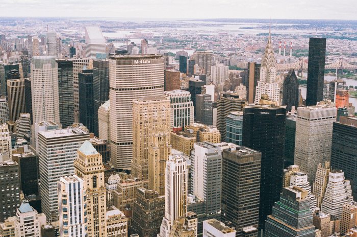 new york from empire state building 8