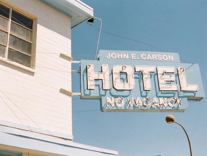 john e carson hotel vintage las vegas photo