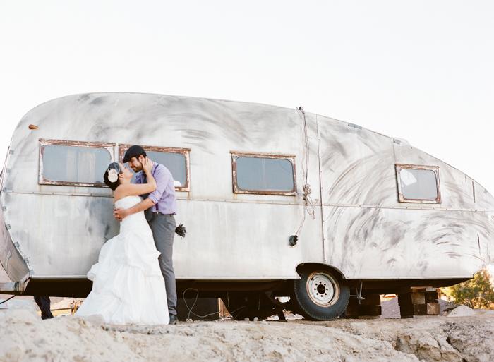 nelson landing ghost town rustic vegas wedding 26