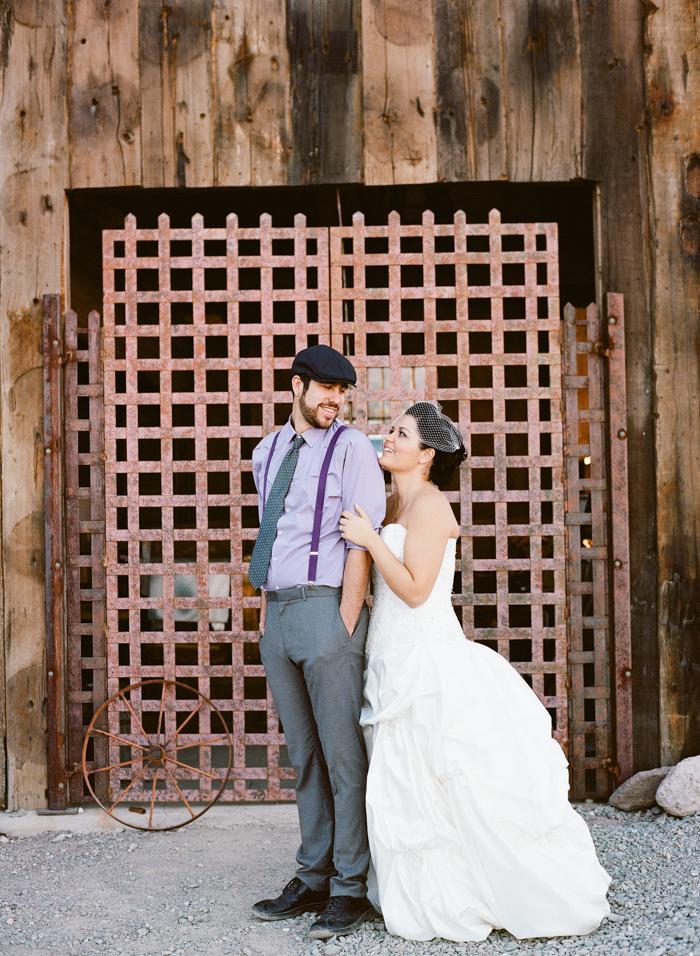 nelson landing ghost town rustic vegas wedding 32