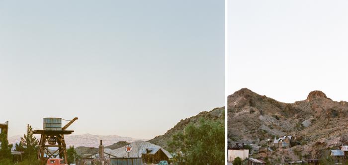 nelson landing ghost town rustic vegas wedding 39