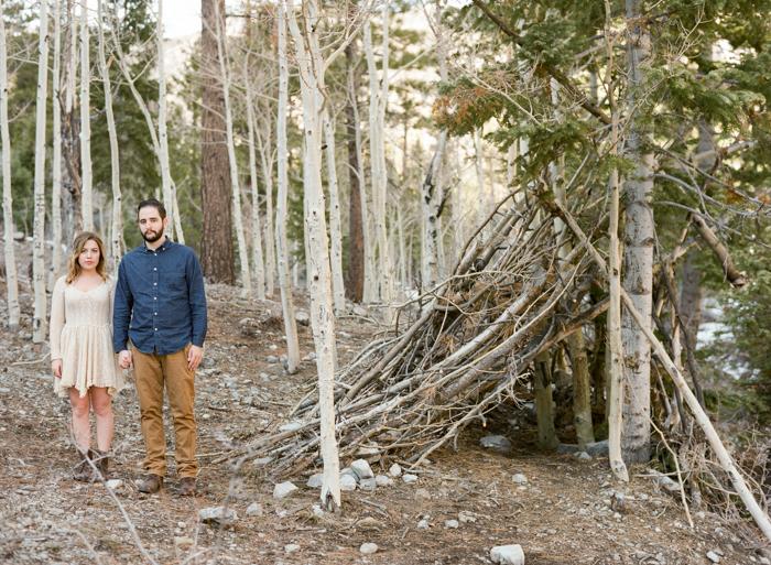 woodsy mount charleston engagement session 001
