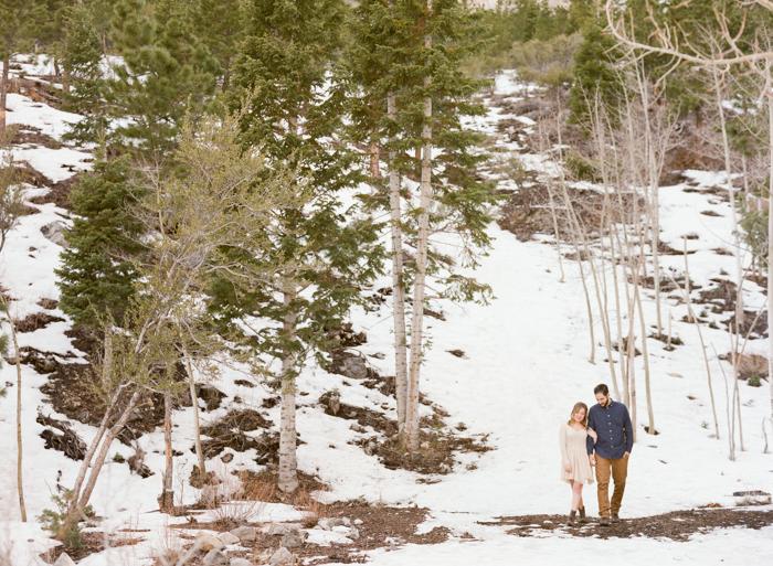 woodsy mount charleston engagement session 015