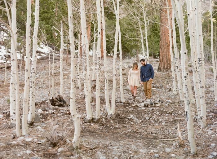 forest engagement session las vegas