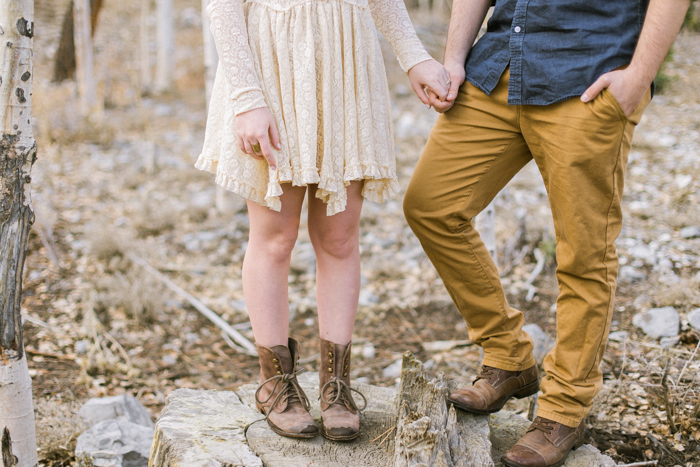 woodsy indie boho engagement clothes