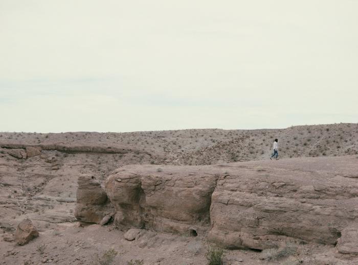 nevada desert expired slide film 14