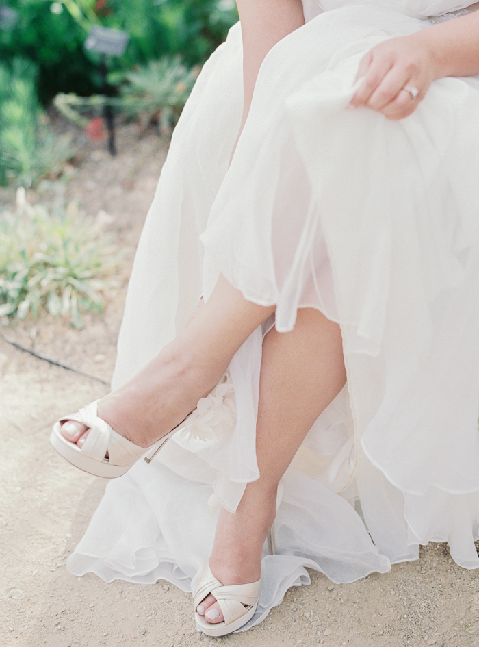 off white bridal heels with feathers