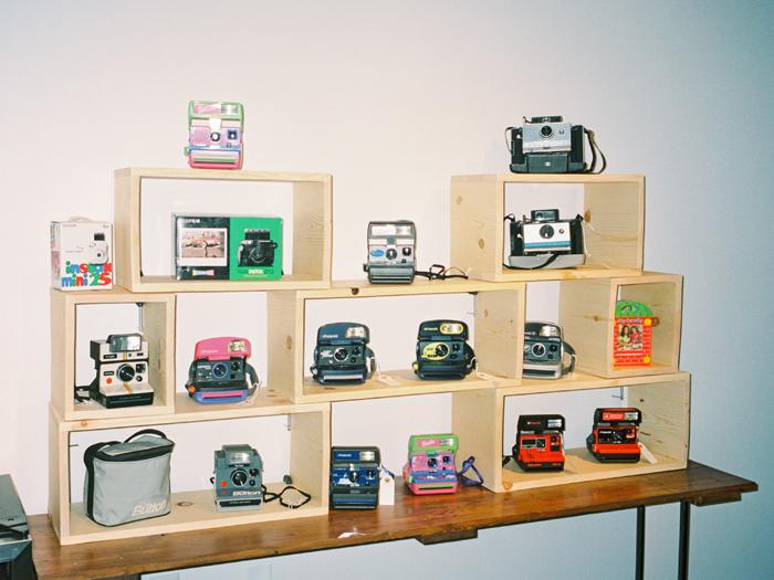 las vegas camera club vintage polaroids