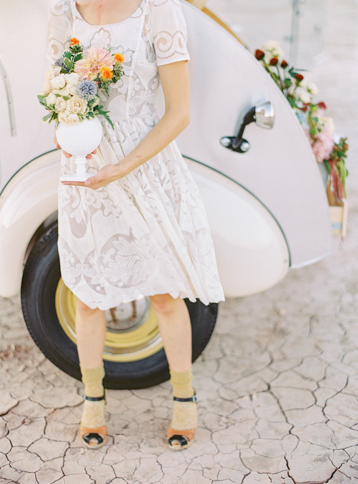 vintage anthropologie wedding dress desert