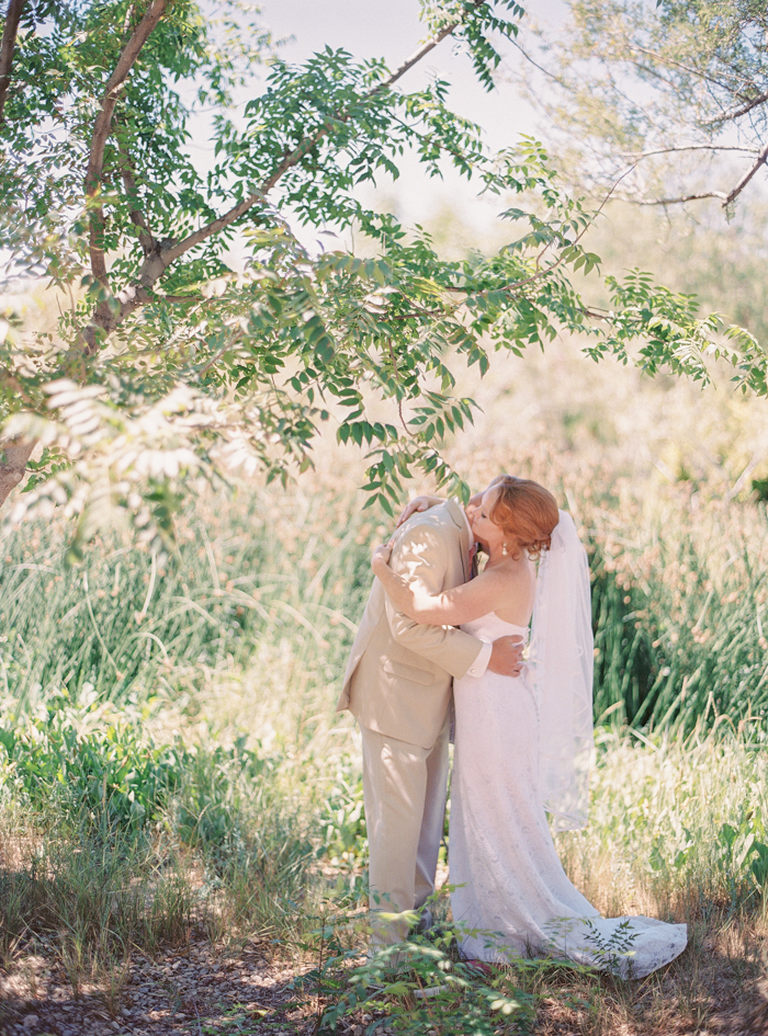 springs preserve vegas destination wedding photo