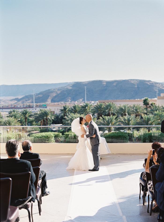 las vegas red rock casino balcony wedding ideas