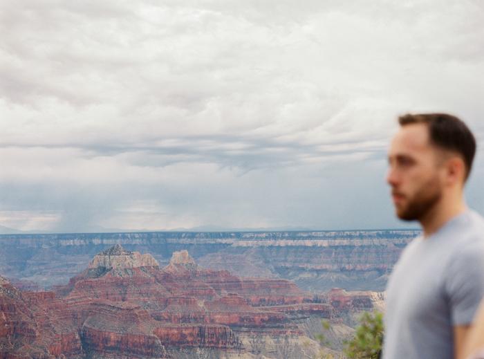 grand canyon north rim on film 7