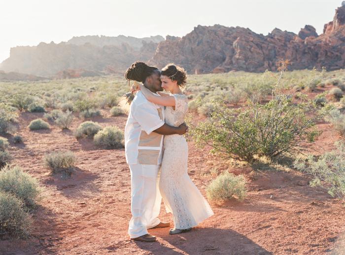 valley of fire boho desert destination wedding