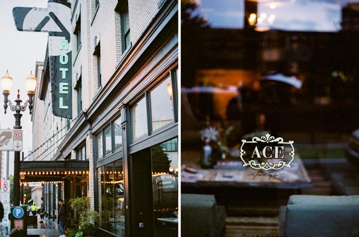 downtown portland ace hotel on film