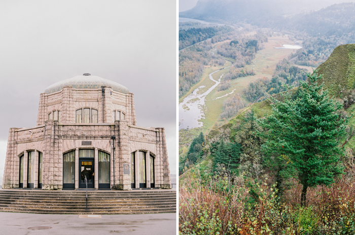 vista house at crown point photo