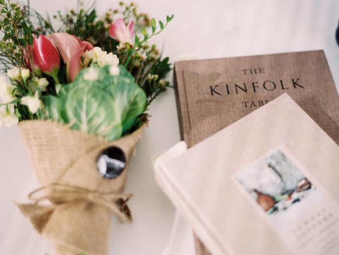 kinfolk afternoon coffee flowers