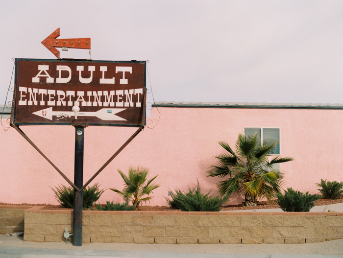 adult entertainment sign