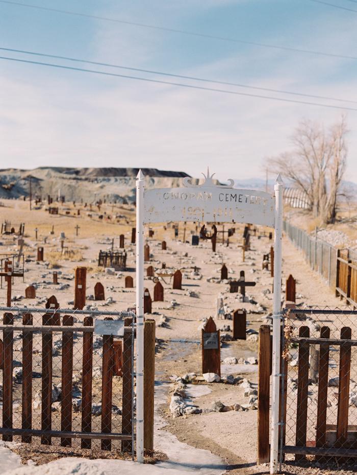 cemetery by clown motel tonopah nv