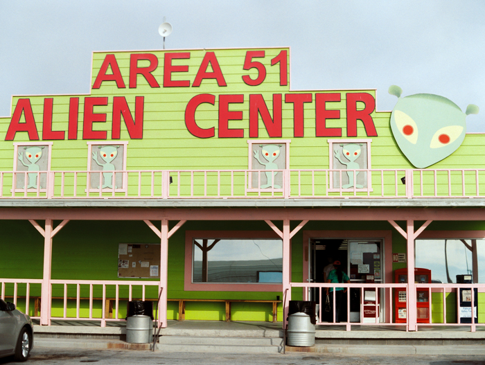 area 51 alient center gas station nv
