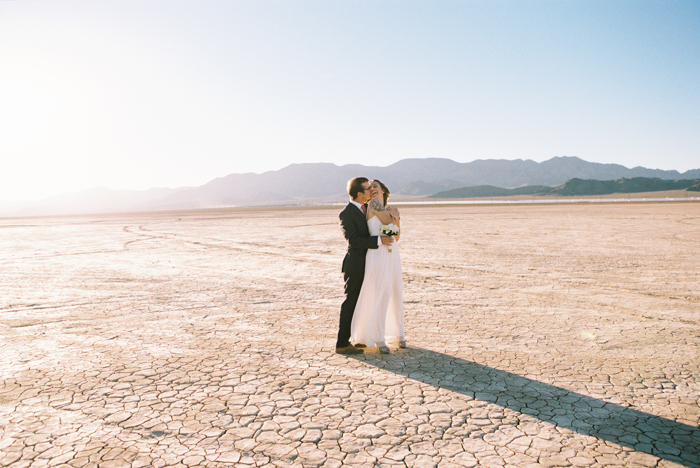 intimate indie desert vegas wedding photo 46