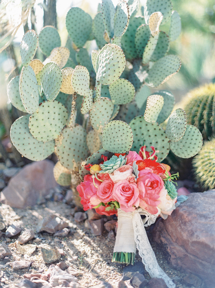 desert inspired wedding bouquet by Layers of Lovely