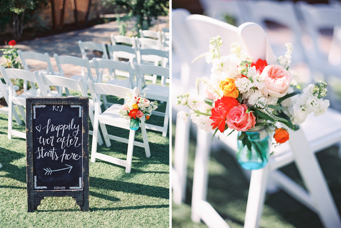 romantic desert arboretum vegas wedding photo 7