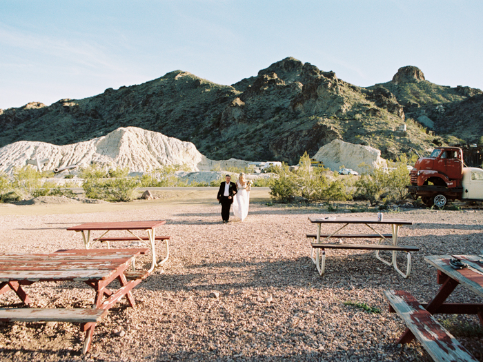 nelson ghost town rustic destination vegas wedding 20