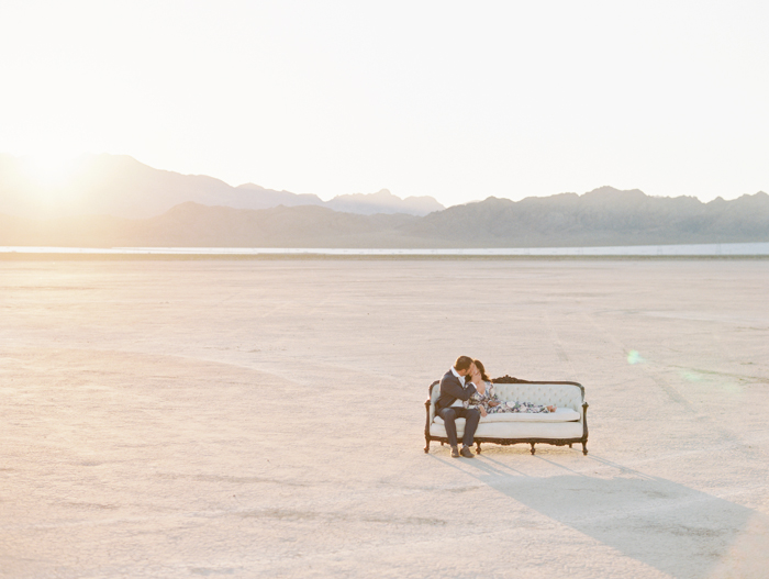 romantic las vegas desert engagement photo nostalgia resources couch
