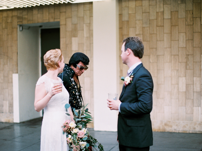 downtown las vegas indie wedding photo