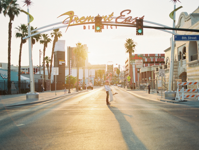 stylish downtown las vegas elopement | gaby j photography