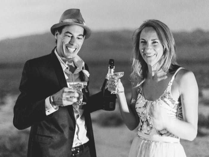 stylish corn creek nv desert elopement | gaby j photography