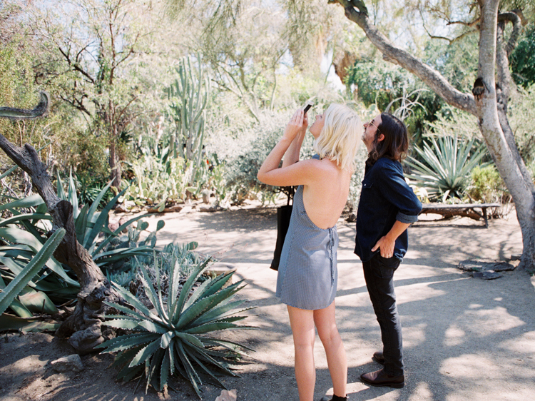 moorten botanical garden engagement | palm springs southern california lifestyle photographer | gaby j photography
