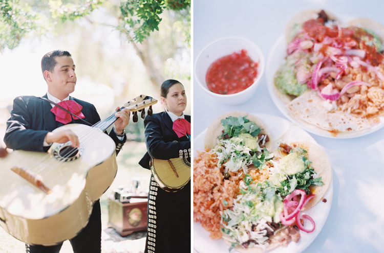 rancho guajome adobe wedding | san diego fine art wedding photographer | mariachi band | street tacos