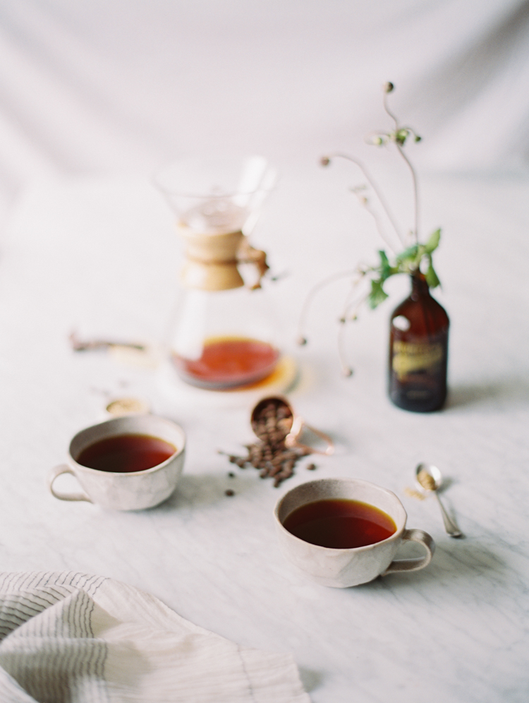 the art of slow living with coffee | gaby j photography | styling by meggan blake