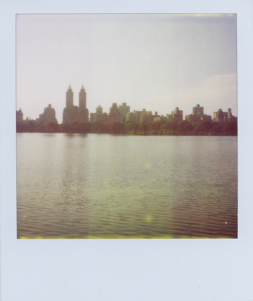 new york city elopement photographer polaroid