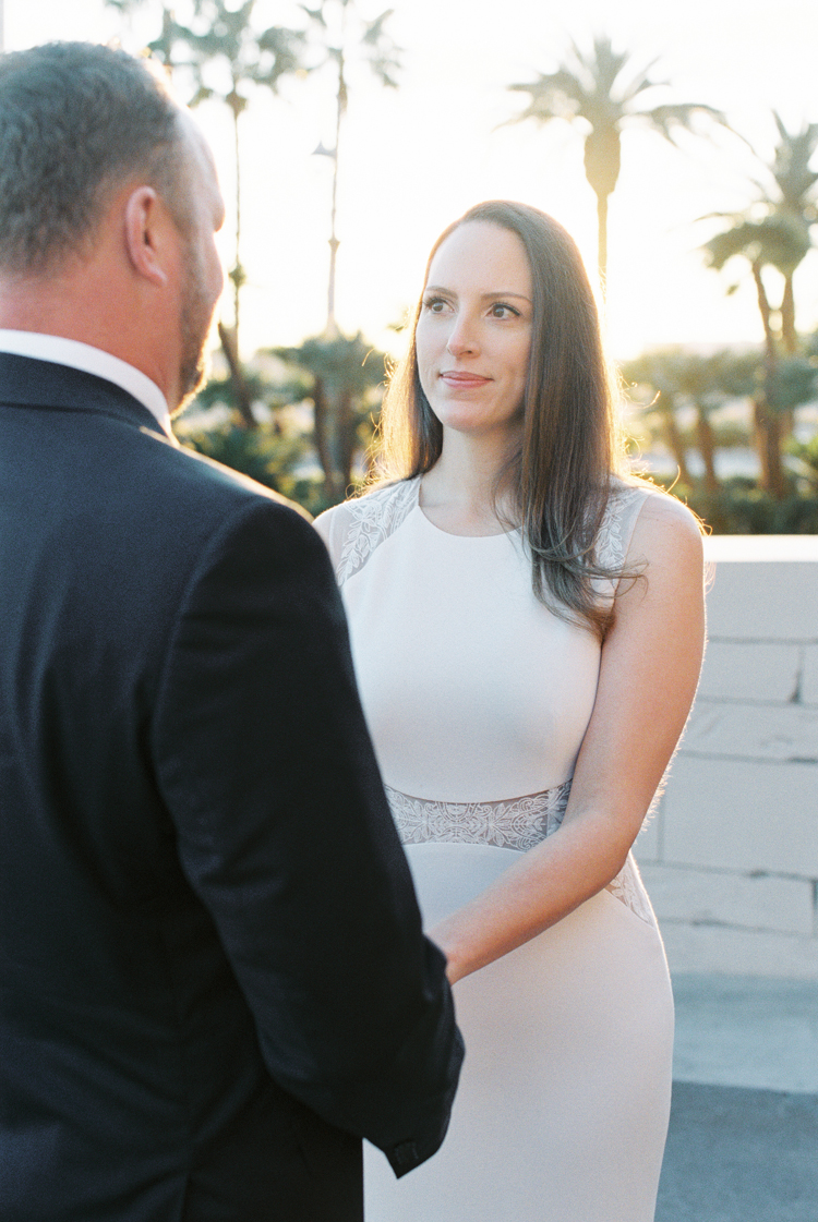 sunrise wedding ceremony in las vegas