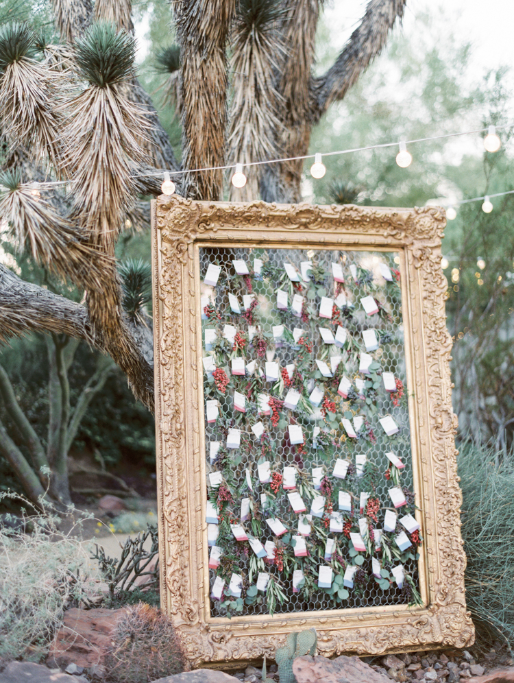 dried herbs escort cards