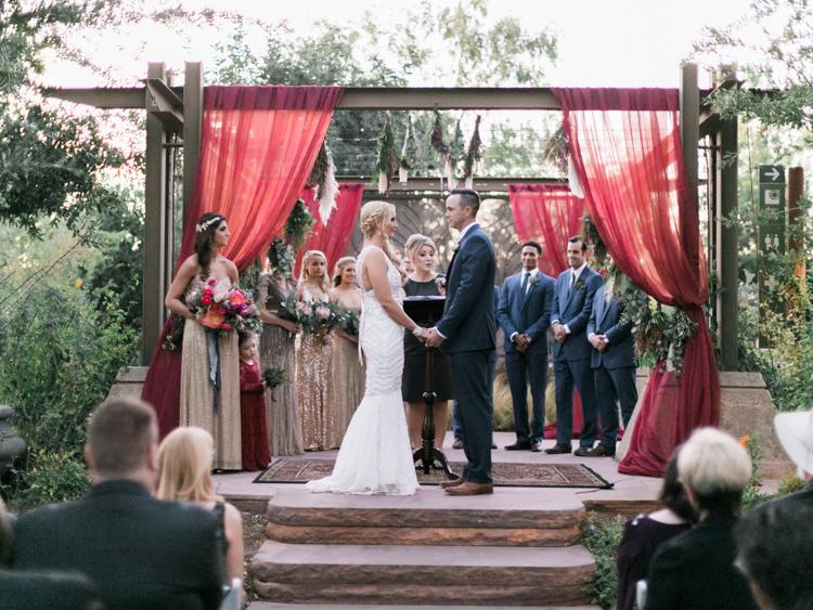 springs preserve garden arboretum wedding photographers