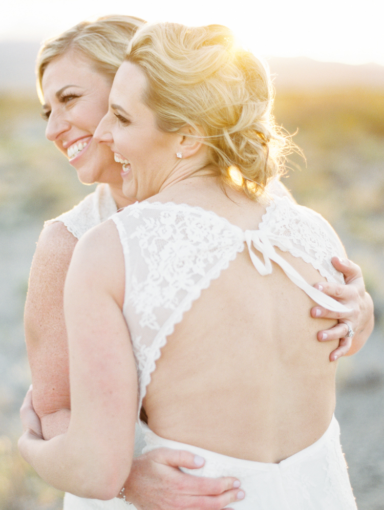 same sex wedding in las vegas desert photographer