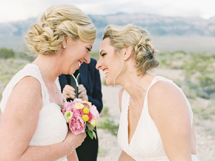 same sex marriage ceremony in las vegas photography
