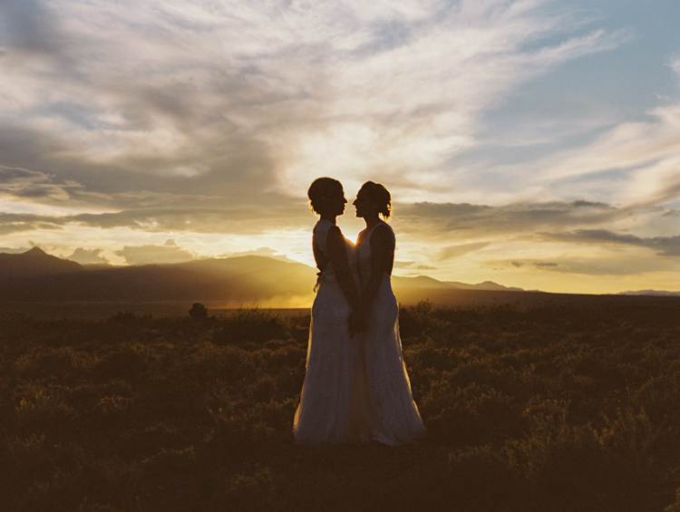 same sex lesbian wedding in las vegas photographer