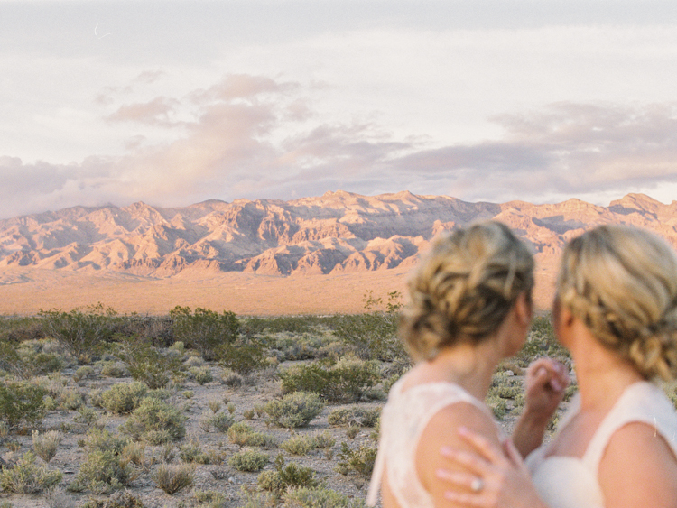 same sex lesbian wedding in las vegas photography