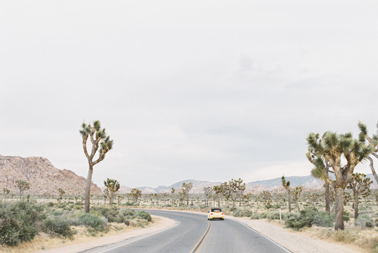 road to joshua tree national park