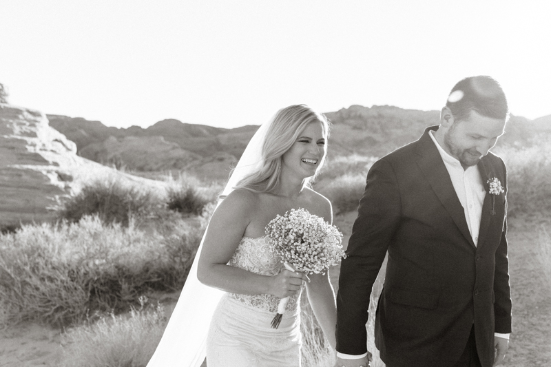 valley of fire gold ridge wedding ceremony