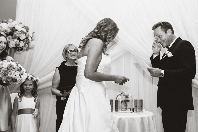 four seasons palm room wedding ceremony