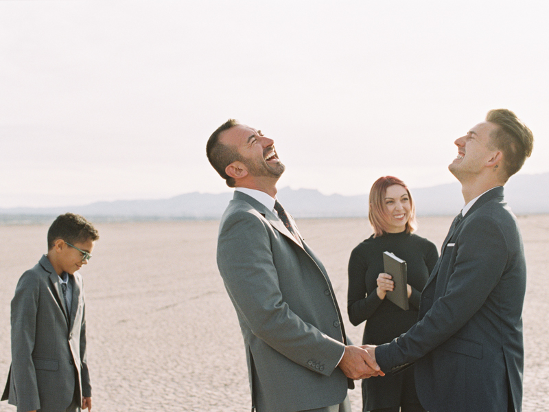 dry lake bed wedding las vegas