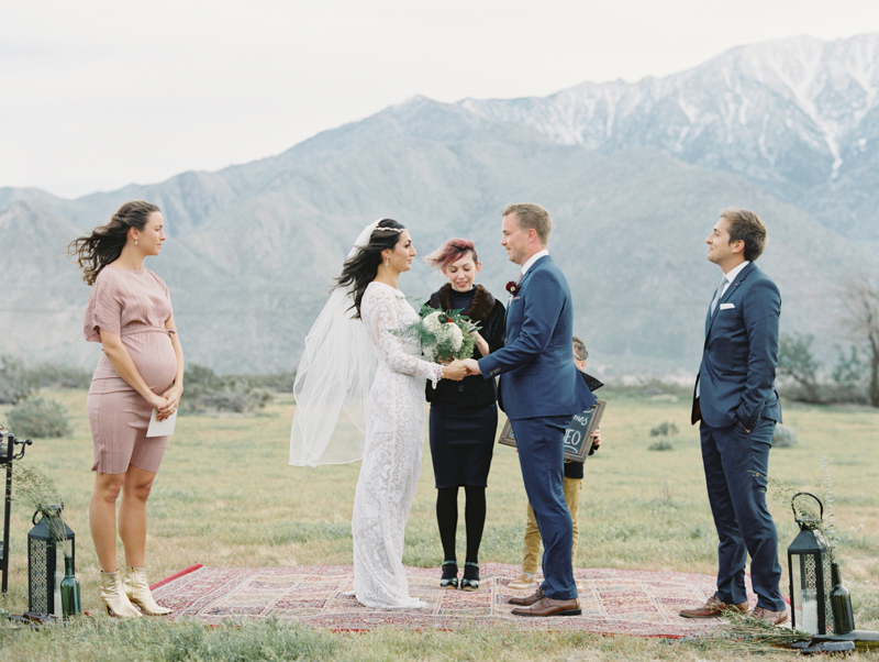 intimate wedding in palm springs