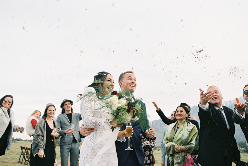 outdoor palm springs wedding | gaby j photography