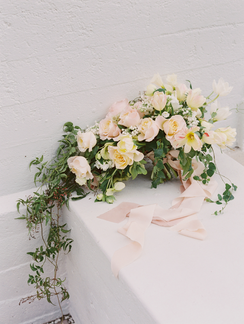 spring inspired wedding flowers